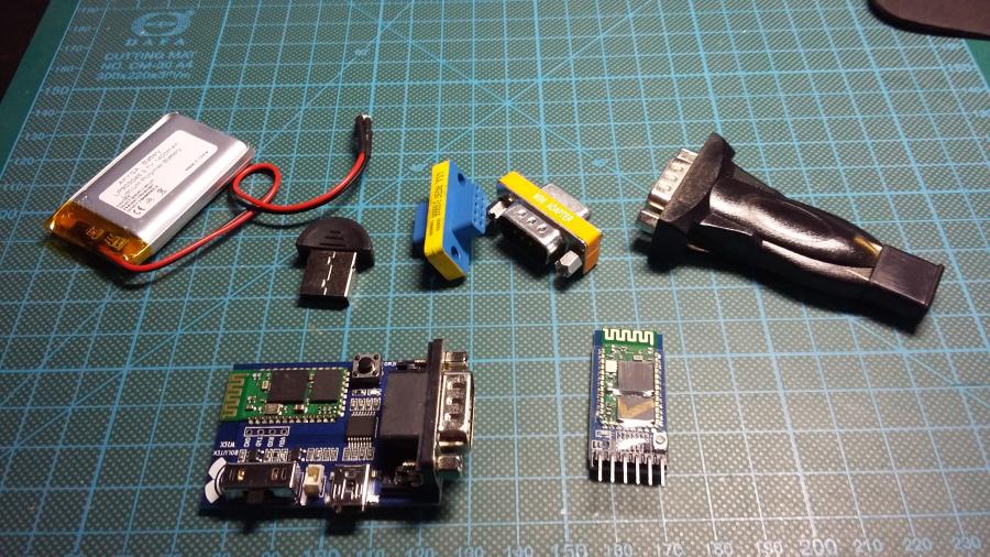 tech stuff - Bluetooth serial console